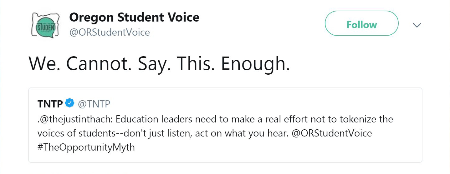 Oregon Student Voice