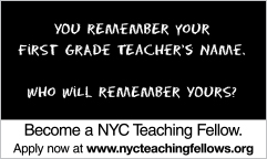 nyc teaching fellow essay